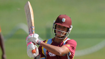 Tagenarine Chandepaul, son of Shivnarine, top scored with 84