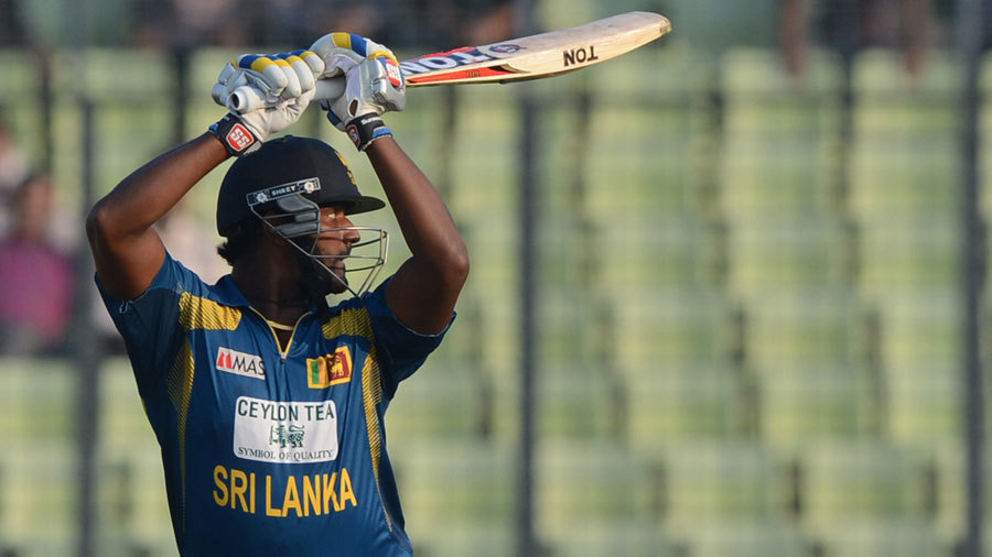 Thisara Perera rescued Sri Lanka with an unbeaten 80