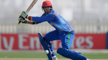 Afghanistan Under-19 opener Mohammad Mujtaba top scored with 75