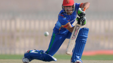 Afghanistan Under-19's Ihsanullah made 63