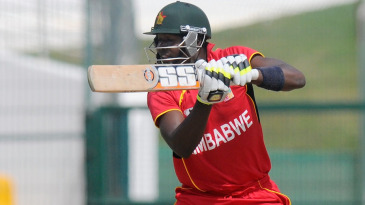 Luke Jongwe smashed four sixes in his 55