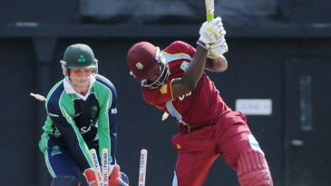 Andre Russell was yorked by Tim Murtagh