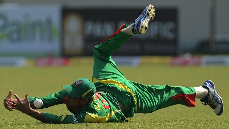 Nasir Hossain dropped Ashan Priyanjan early in his innings