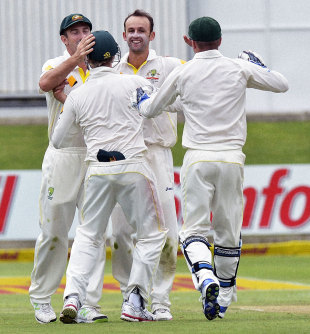 Nathan Lyon again picked up valuable wickets when life was tougher for the quick bowlers