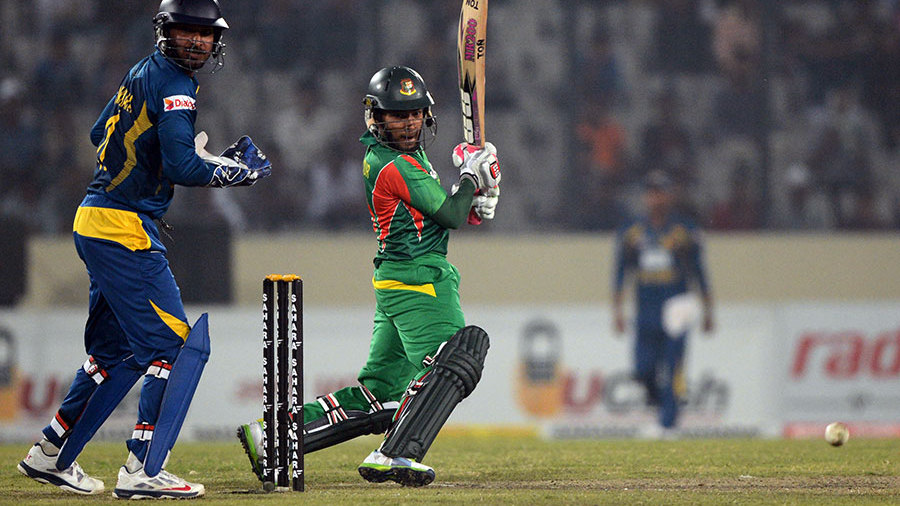 Mushfiqur Rahim goes deep in his crease to cut