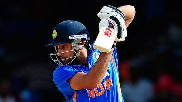 Rohit Sharma was unbeaten on 68