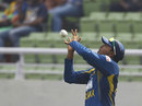 Angelo Perera takes the catch to dismiss Shamsur Rahman, Bangladesh v Sri Lanka, 3rd ODI, Dhaka, February 22, 2014