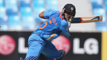 India Under-19s Deepak Hooda top scored with 68