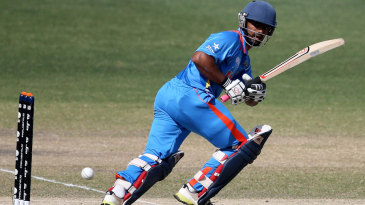 Vijay Zol was the only one of India Under-19s top five to reach double digits