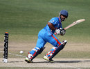 Vijay Zol was the only one of India Under-19s top five to reach double digits, India v England, Under-19 World Cup 2014, quarter-final, Dubai, February 22, 2014