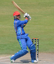 Nasir Jamal top-scored with 61 for Afghanistan, Afghanistan v South Africa, Under-19 World Cup 2014, quarter-final, Sharjah, February 23, 2014