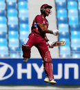 Nicolas Pooran scored 143 out of West Indies' 208, Australia v West Indies, Under-19 World Cup 2014, quarter-final, Dubai, February 23, 2014