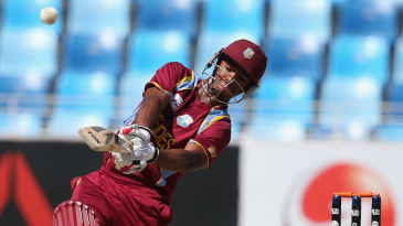Nicolas Pooran hit six sixes in his innings