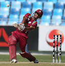 Nicolas Pooran hit six sixes in his innings, Australia v West Indies, Under-19 World Cup 2014, quarter-final, Dubai, February 23, 2014