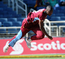 Miguel Cummins in his delivery stride, West Indies v Ireland, only ODI, Kingston, February 23, 2014
