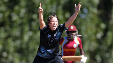 Holly Huddleston took her maiden five-wicket haul