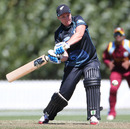 Katie Perkins scored an unbeaten 45 off 34 balls, New Zealand v West Indies, 2nd Women's ODI, Lincoln, February 24, 2014