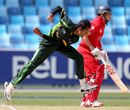 Zia-ul-Haq picked up two wickets in his spell, England v Pakistan, Under-19 World Cup 2014, semi-final, Dubai, February 24, 2014