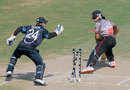 Shivank Vijayakumar is stumped, UAE v New Zealand, 2nd Plate Semi-Final, Under-19 World Cup, Abu Dhabi, February 25, 2014