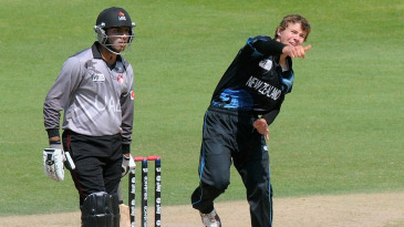 Josh Finnie picked up two wickets in his three overs