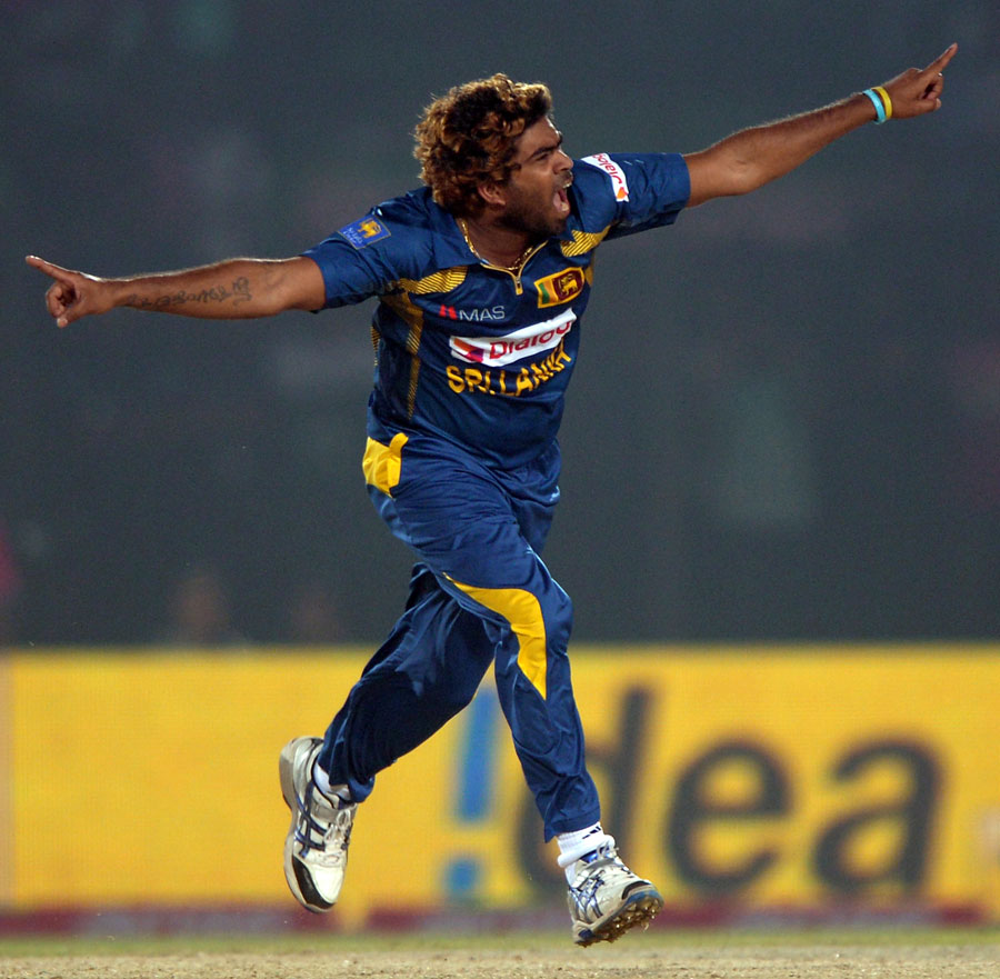 Lasith Malinga will want to better his stats against India