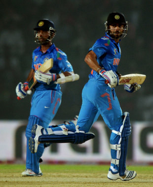 Virat Kohli and Ajinkya Rahane were hardly bothered in their 213-run partnership