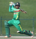 Shadman Islam fell three short of a hundred, Bangladesh v New Zealand, Plate final, Under-19 World Cup, Abu Dhabi, February 27, 2014