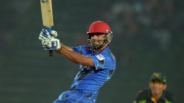 Noor Ali Zadran played some attractive shots in his 44