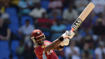 Darren Sammy used the long handle to good effect