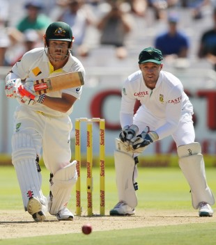 David Warner was in fine form on the first day in Cape Town