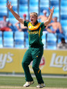Corbin Bosch exults after a wicket, Pakistan v South Africa, Final, Under-19 World Cup, Dubai, March 1, 2014