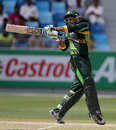 Imam-ul-Haq plays a pull, Pakistan v South Africa, Final, Under-19 World Cup, Dubai, March 1, 2014