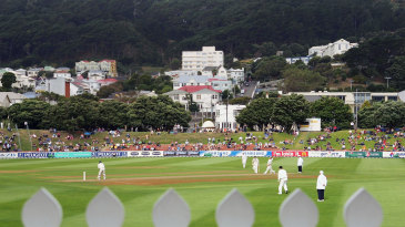 A view of the Basin Reserve