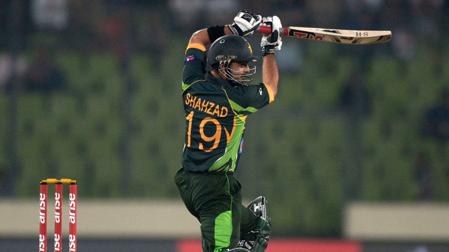 Ahmed Shehzad gave Pakistan a fast start