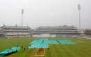 Heavy rain cut the day short at Newlands, South Africa v Australia, 3rd Test, Cape Town, 2nd day, March 2, 2014