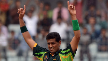 Mohammad Talha took two wickets on debut