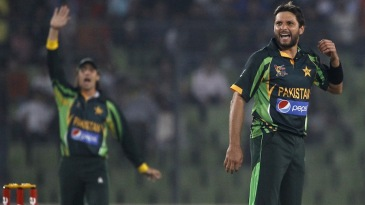Shahid Afridi appeals unsuccessfully