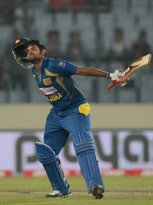 Lahiru Thirimanne ended as the leading run-scorer for the tournament