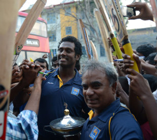 After their team faltered in the finals of several high-profile tournaments, Sri Lankan fans were delighted with the Asia Cup victory