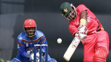 Hamilton Masakadza powered Zimbabwe's chase with a 52-ball 93