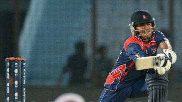 Gyanendra Malla top-scored for Nepal with 48
