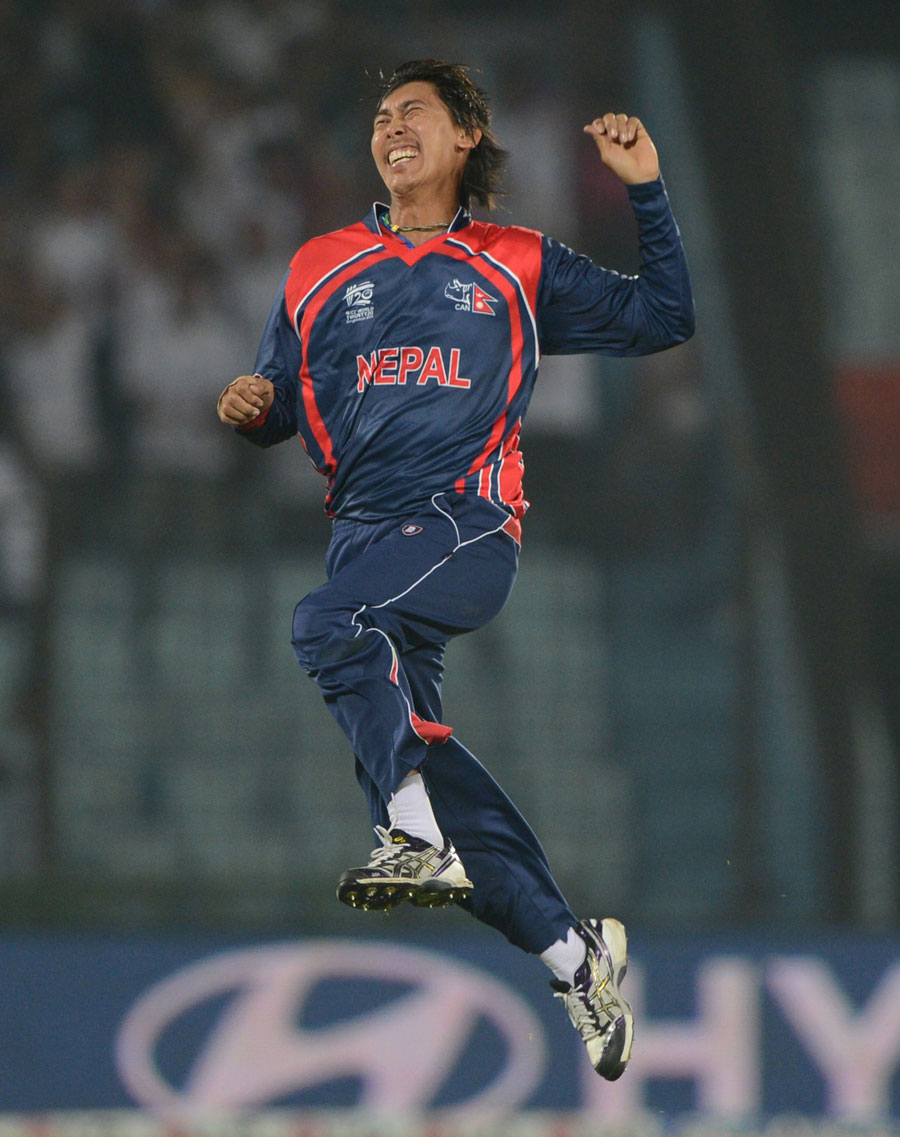 (Photo) Shakti Gauchan finished with 3 for 9
