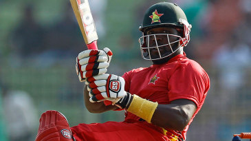 Hamilton Masakadza plays a paddle-scoop
