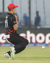 Aizaz Khan drops a sitter, Afghanistan v Hong Kong, World T20, Group A, Chittagong, March 18, 2014