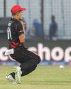 Aizaz Khan drops a sitter, Afghanistan v Hong Kong, World T20, Group A, Chittagong, March 18, 2014
