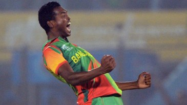 Al-Amin Hossain twin strikes pegged Nepal back