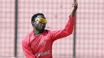 Natsai M'Shangwe in his delivery stride