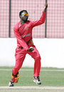 Natsai M'Shangwe in his delivery stride, Afghanistan v Zimbabwe, World T20 warm-up match, Chittagong, March 14, 2014