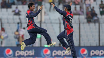 Sompal Kami picked up two wickets