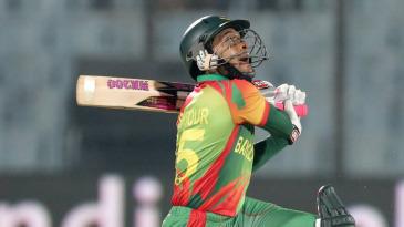 Mushfiqur Rahim top-edges a slog-sweep